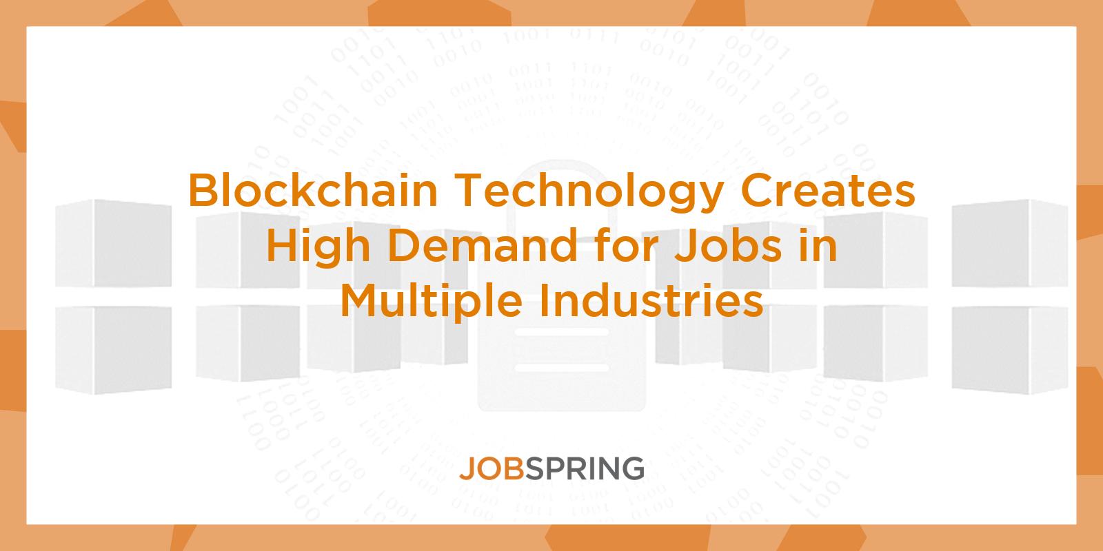 blockchain technology jobs