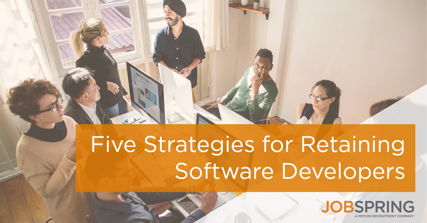 hiring software developers; retaining software developers;
