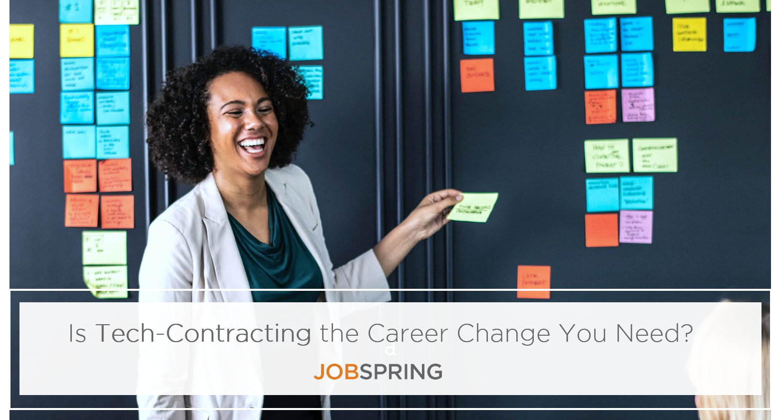 Jobspring, contracting, gig-economy, tech-career